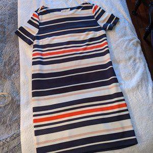Reitmans Striped T-Shirt Dress